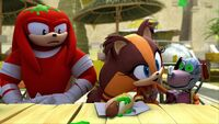 SB S1E04 Knuckles disgusted