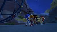 SB S1E12 Team Sonic canyon night