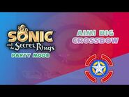 Aim! Big Crossbow - Sonic and the Secret Rings (Party Mode)