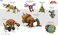 Character Designs (Shattered Crystal)