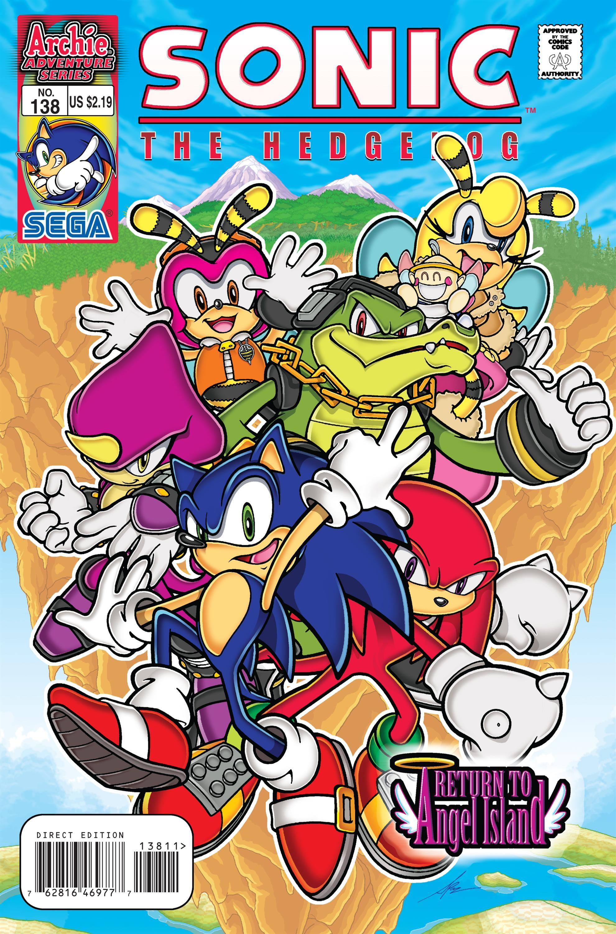 Archie Sonic the Hedgehog Issue 138