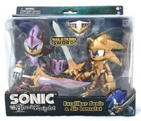 Jazwares Excalibur Sonic & Sir Lancelot