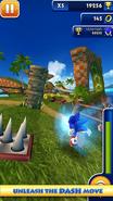 Sonic Dash screen 2