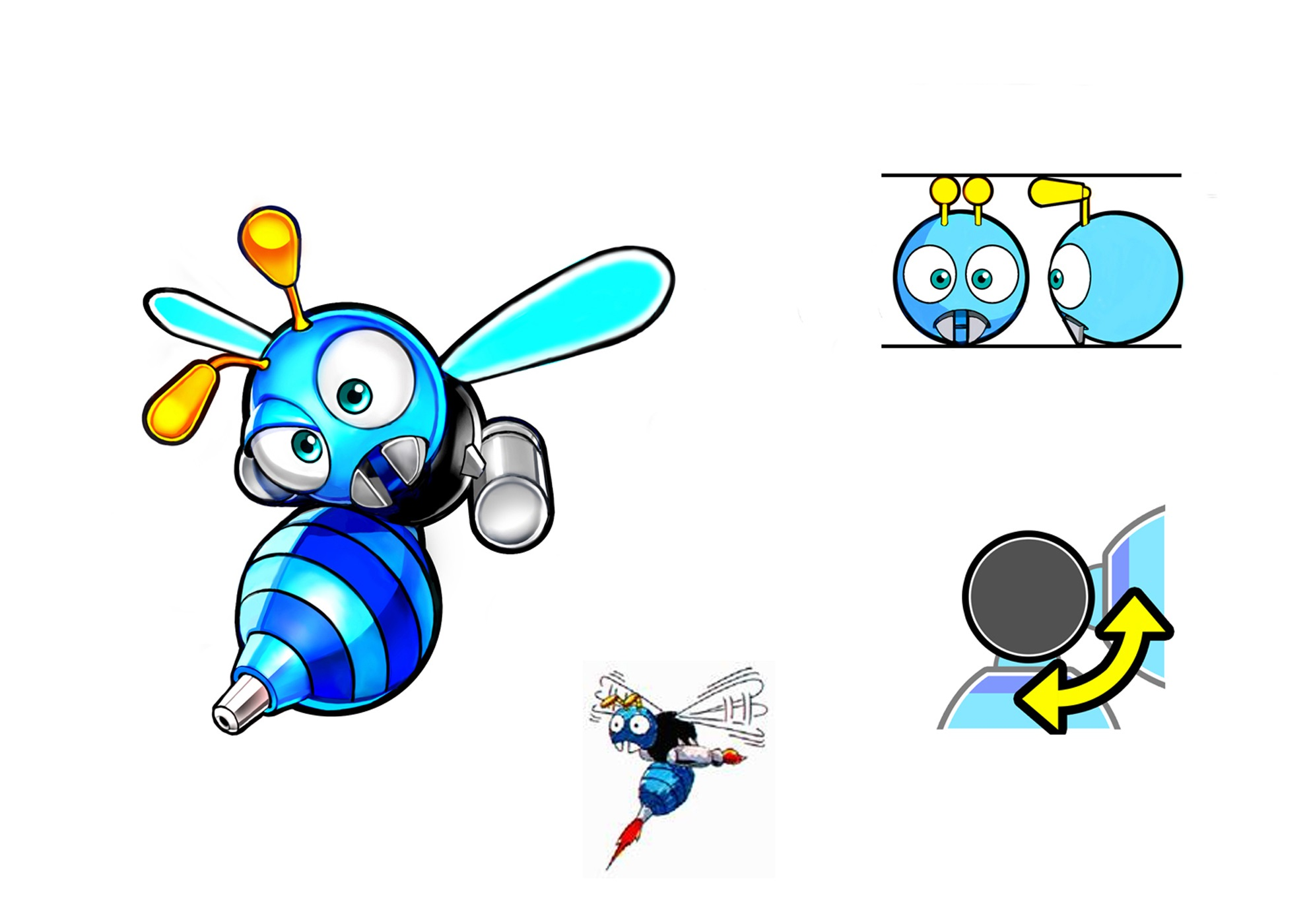 Buzz Bomber/Galeria