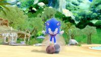 S1E27 Sonic run ball beach