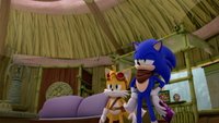 SB S1E50 Tails Sonic Amy's House