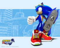 SonicRiders Wp Sonic3D