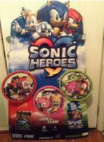 Sonic Heroes display