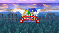 Sonic the Hedgehog 4 Episode 2 Title