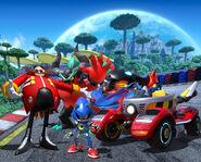 TSR Team Eggman