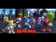 Sonic Forces Escenas en Español