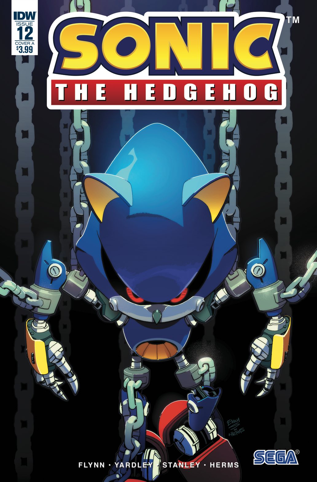 IDW Sonic the Hedgehog Issue 12