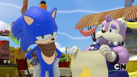 Sonic and Lady Walrus