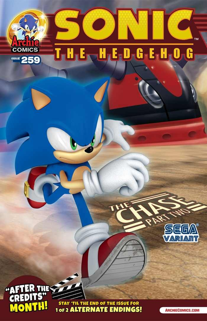 Archie Sonic the Hedgehog Issue 259