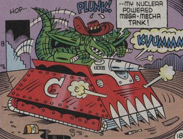 Mega Mecha Tank