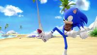 SB S1E19 Sonic run stance
