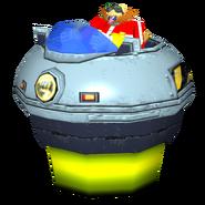 Sonic Heroes Model Eggmobile