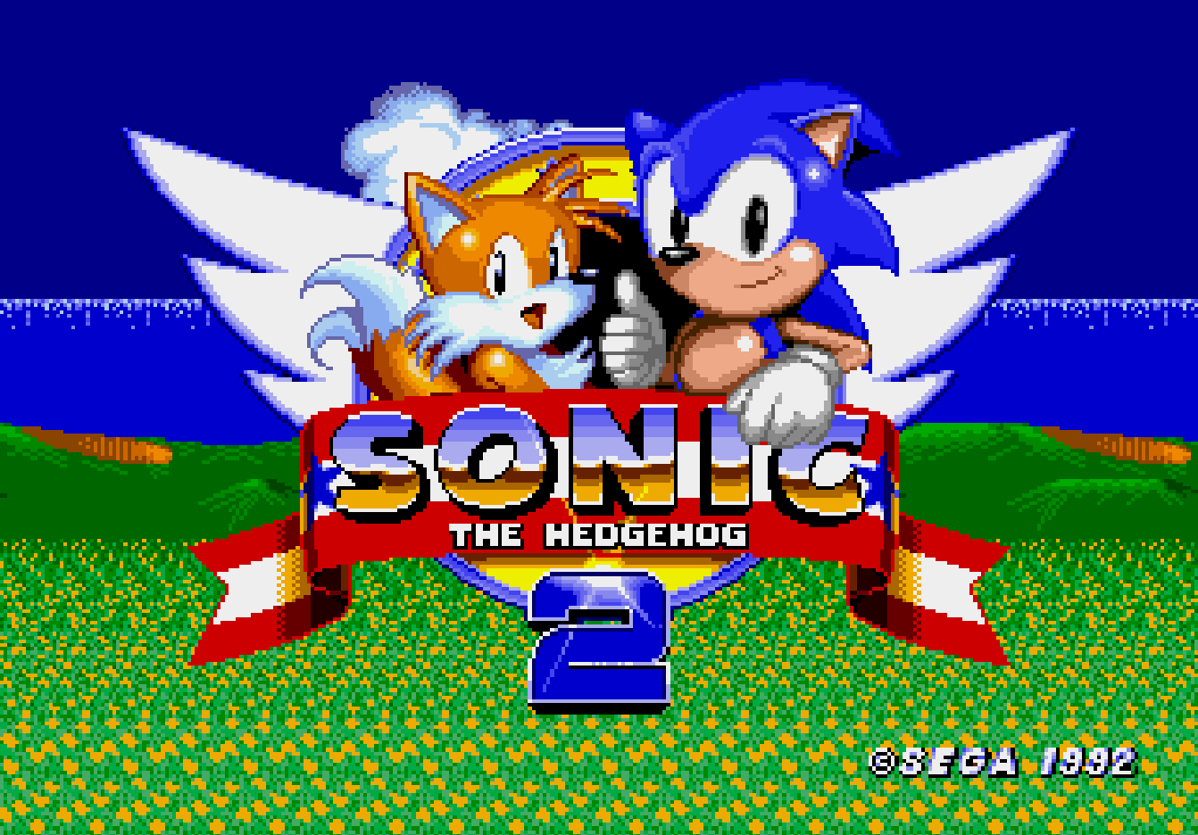 Sonic the Hedgehog 2 (прототип Саймона Вэя)