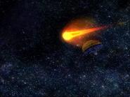 Black Comet space