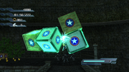 Psychokinesis with objects in Sonic 06