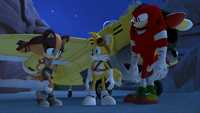 SB - Sticks, Tails and Knuckles