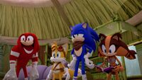 SB S1E50 Team Sonic we have a right to read it