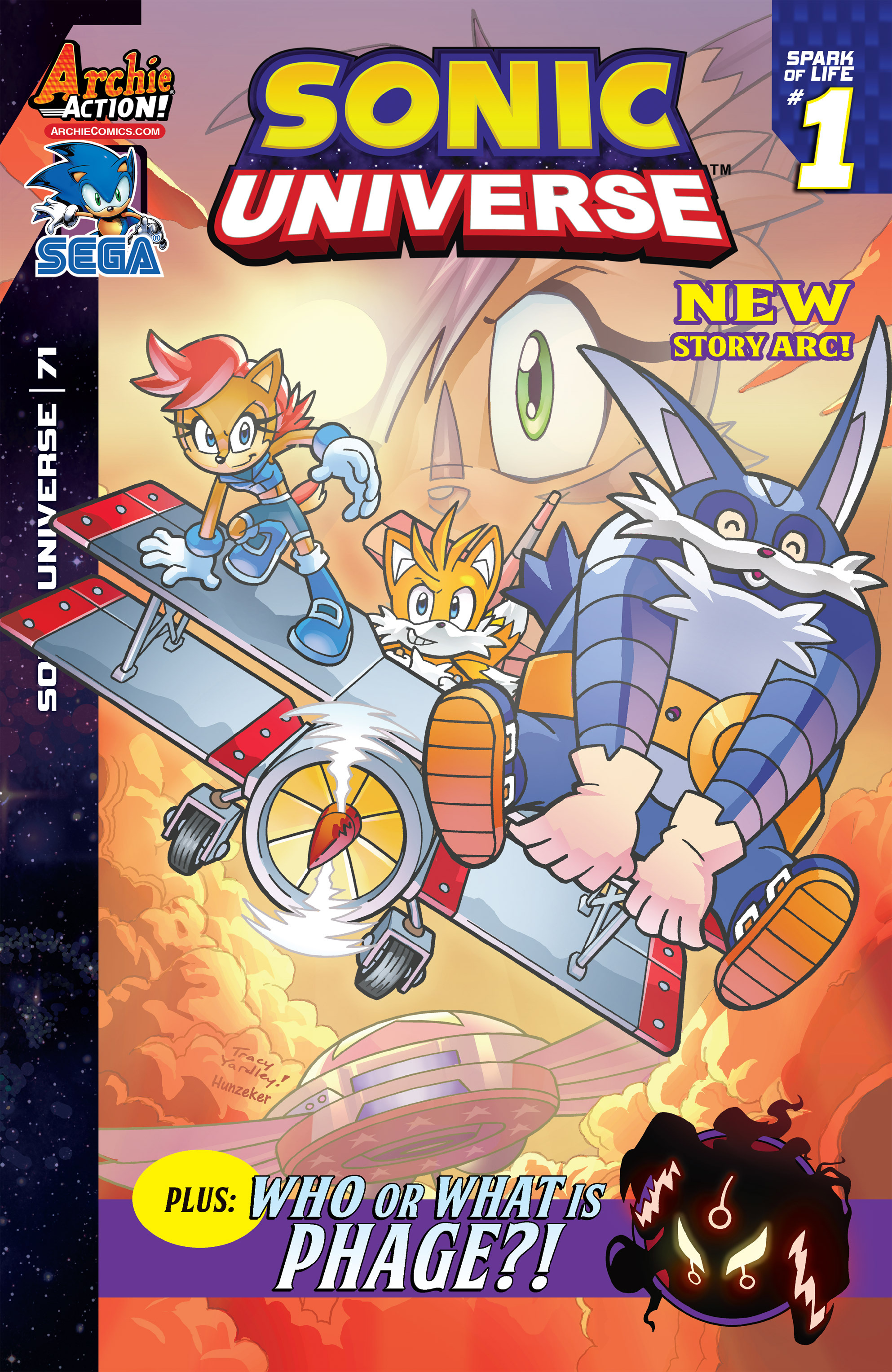 Sonic Universe Issue 71