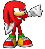 Sonic-Runners-Knuckles-Second-Art