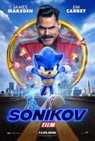Sonic the Hedgehog movie poster Bosnian