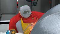 SB S1E20 Eggman welding mask