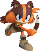 SonicDash2Sticks with her boomerang
