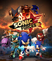 Sonic Forces box artwork