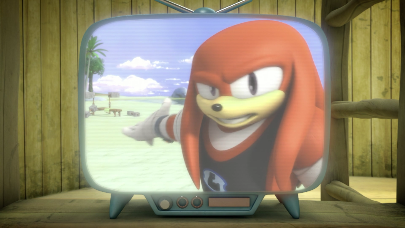 Knuckles' Upper-Body-Only Workout Center