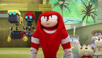 SB S1E13 Cubot Orbot Knuckles villagers
