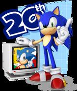 Sonic Channel 3D Sonic art 6