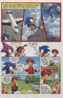 Sonic X issue 33 page 3