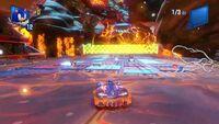 Team Sonic Racing Hidden Volcano