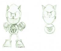Metal Sonic CD concepts 3