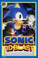 Sonic 3D Blast Card