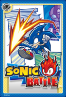 Sonic Battle Card