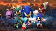 Sonic Forces tapeta 1