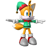 Runners Model Tails Holiday