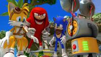 S1E03 Tails Knuckles Sonic UT