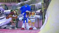SB S1E50 Sticks Sonic Tails demands