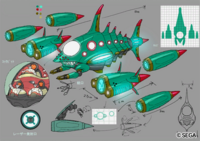 Concept artwork - Sonic Unleashed - Xbox 360-PlayStation 3 - 069 - Egg Devil Ray