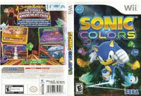 Sonic Colors Wii US foil
