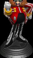 Generations statue Eggman