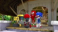 SB S1E10 Cubot Orbot Knuckles Sonic