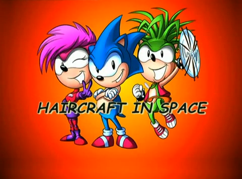 Haircraft in Space