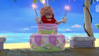 SB S1E08 Sonic's Shack porch cake Knuckles